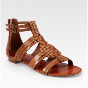 Dolce Vita Tan Leather Cybele Sandal